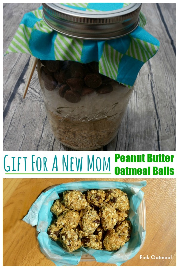 Gift For A New Mom - Pink Oatmeal