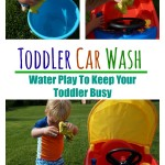 Toddler Car Wash - Pink Oatmeal