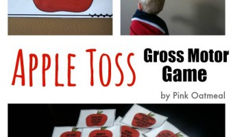 Apple Toss – Gross Motor Game