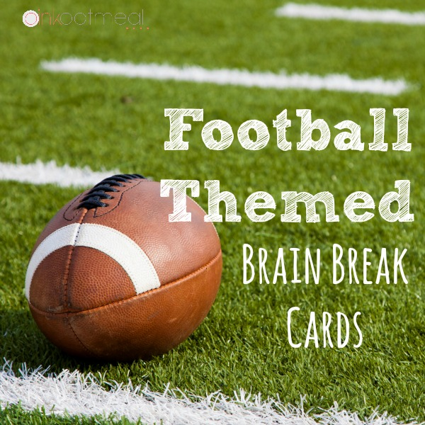 Football brain break cards - updated