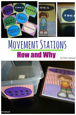 Movement Stations - Pink Oatmeal