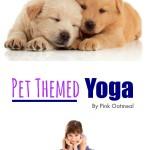 Pet Themed Yoga - Pink Oatmeal