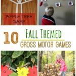 10 Fall Themed Gross Motor Games - Pink Oatmeal
