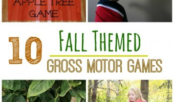 10 Fall Themed Gross Motor Games