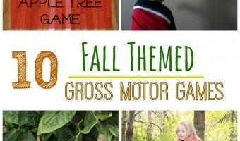 10 Fall Themed Gross Motor Games