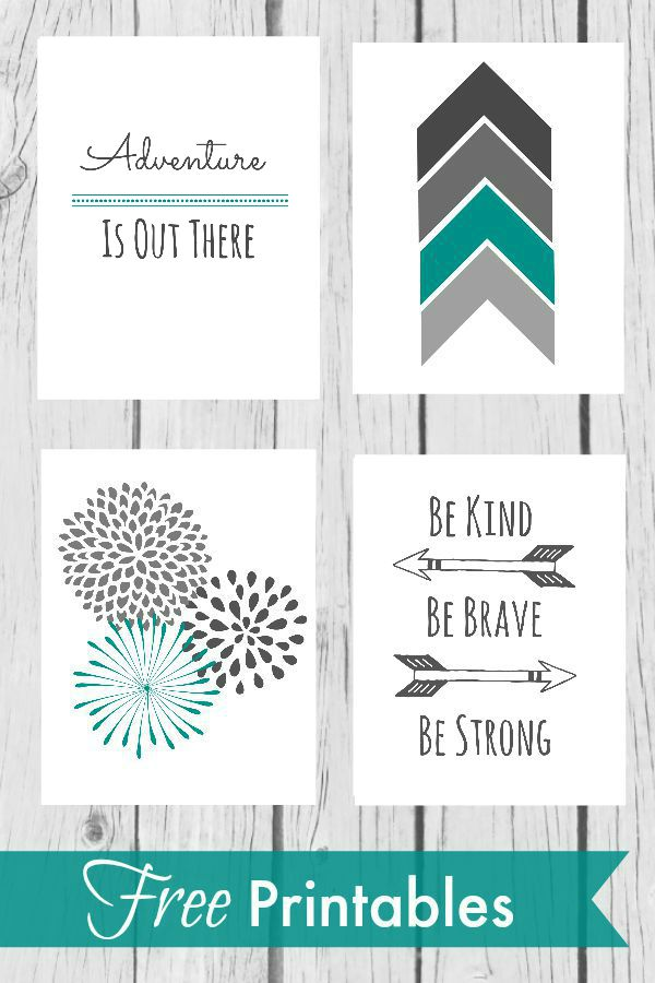 This is a picture of Clean Free Printables for Home Decor