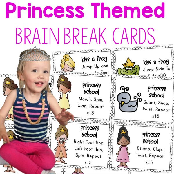 Princess Brain Break Cover