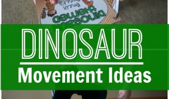 Dinosaur Gross Motor and Brain Break Ideas