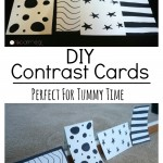 DIY Contrast Cards - Pink Oatmeal