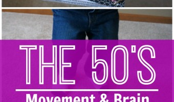 50's Themed Gross Motor and Brain Breaks – 50 Ideas