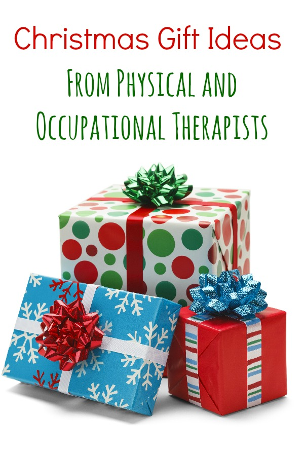 Christmas Gift Ideas from physical and occupational therapists - Pink Oatmeal