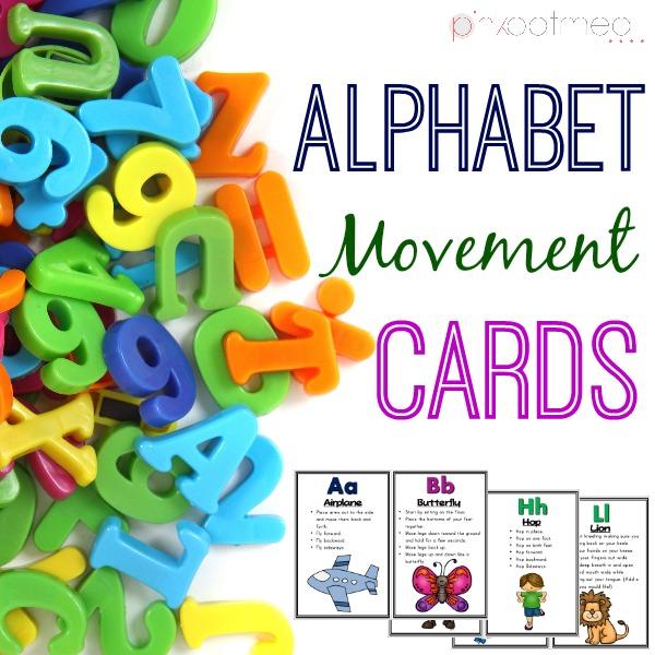 Alphabet Movement Cards Cover