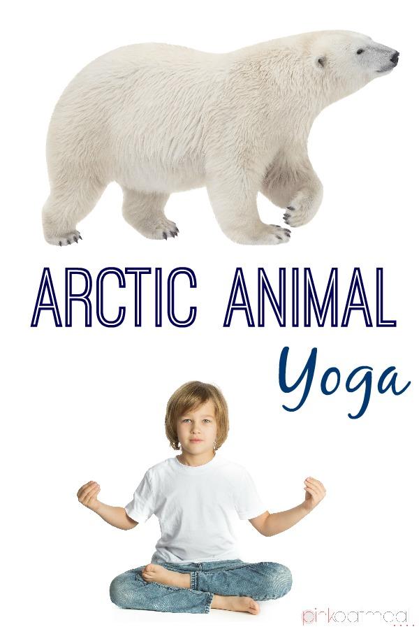 Arctic Animal Yoga Pink Oatmeal