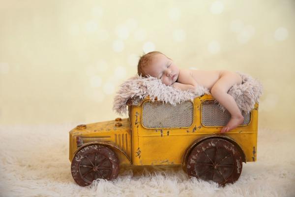 DIY Baby Announcment No Writing
