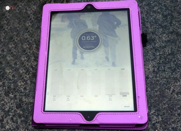 Snow Activities SnowCast App - Pink Oatmeal