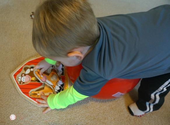 Toddler Weight Bearing - Pink Oatmeal