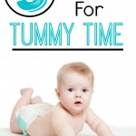 Tummy Time Hacks - Pink Oatmeal
