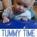 Tummy Time On A Ball