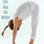 Winter Yoga For Kids - Pink Oatmeal