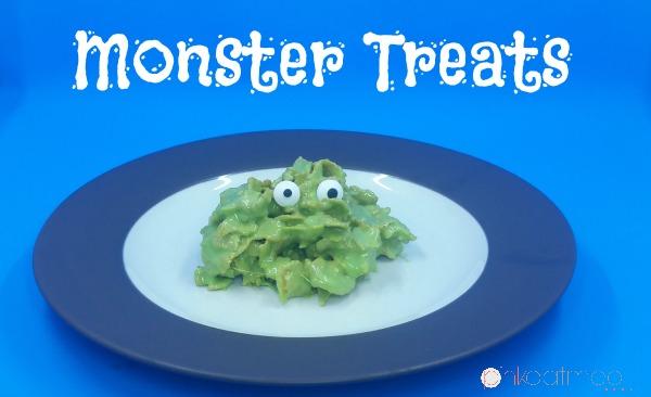 Monster Treats - Pink Oatmeal