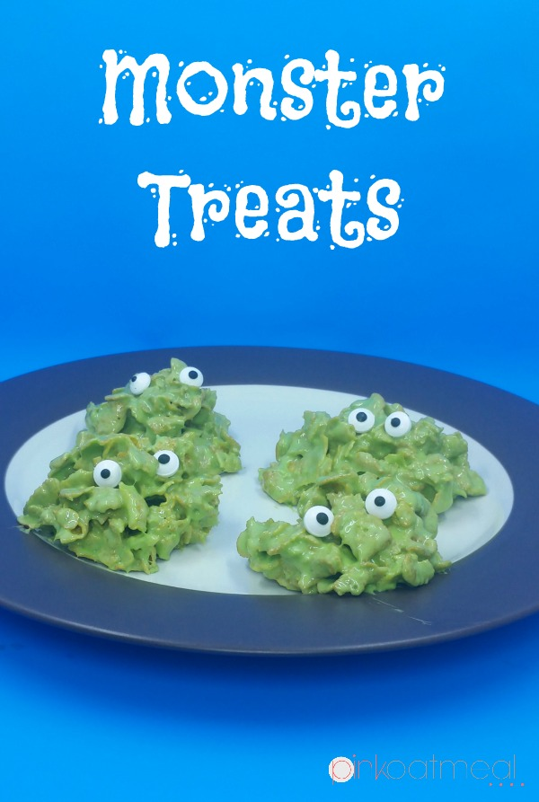 Monster Treats - Pink Oatmeal