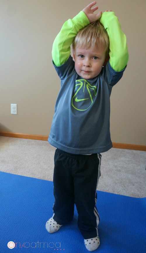 Toddler Yoga Tips. Great tips on how to do yoga with a toddler! I love all the different yoga pose and theme ideas too! - Pink Oatmeal