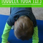 Toddler Yoga Tips - Pink Oatmeal