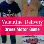 Valentine Delivery Relay – Valentine's Day Gross Motor