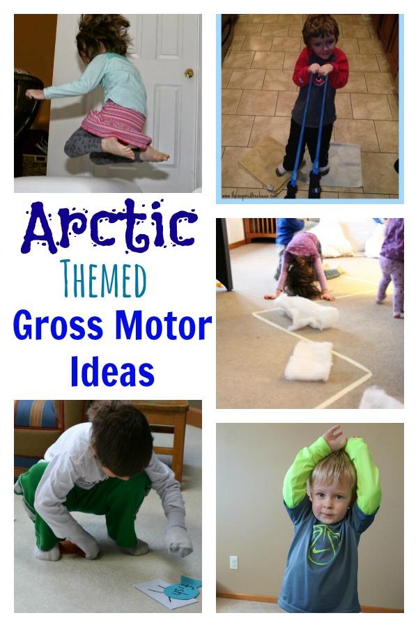arctic themed gross motor ideas