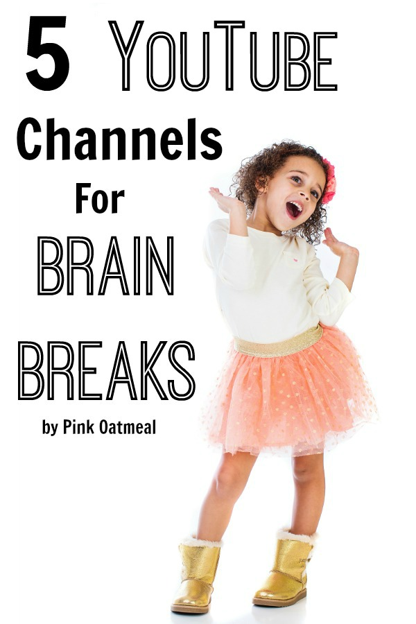 5 YouTube Channels For Brain Breaks. Number 2 looks interesting! Perfect for a education setting or at home!