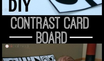 Contrast Cards Board For Baby