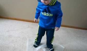 Indoor Ice Skating – Winter Gross Motor Game