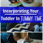 Incorporating A Toddler Into Tummy Time