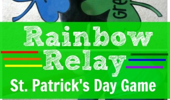 Rainbow Relay – St. Patrick's Day Gross Motor Game