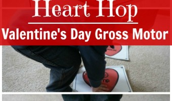 Conversation Heart Hop – Valentine's Day Gross Motor