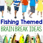 Fishing Themed Motor Activities and Brain Breaks