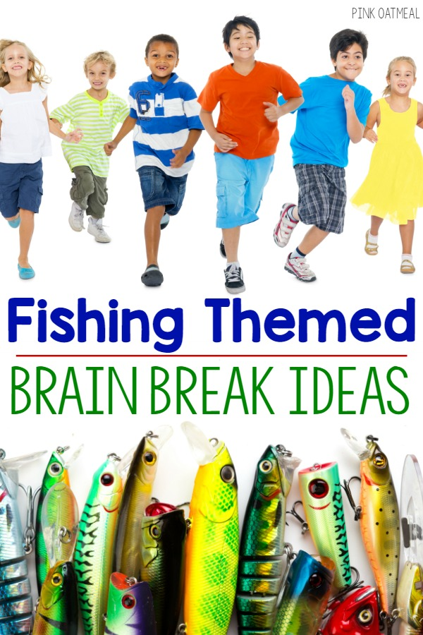 Fun Brain Break Ideas With a Fishing Theme!