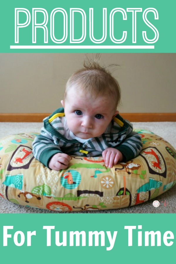 Tummy time products - Ideas for helpful products to use during tummy time!