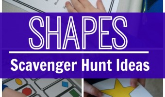 Shape Scavenger Hunt