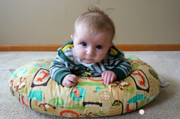Tummy Time On Boppy