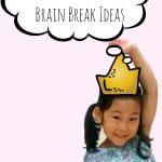 Princess Themed Gross Motor or Brain Break Ideas
