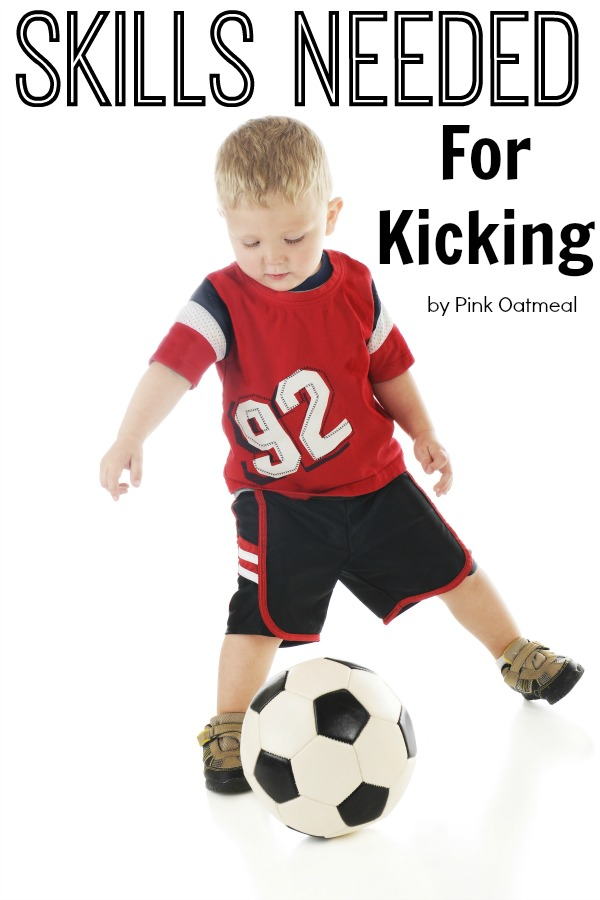 Skills Needed For Kicking and How The Skill Progresses!