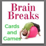 Pink Oatmeal Brain Breaks Widget