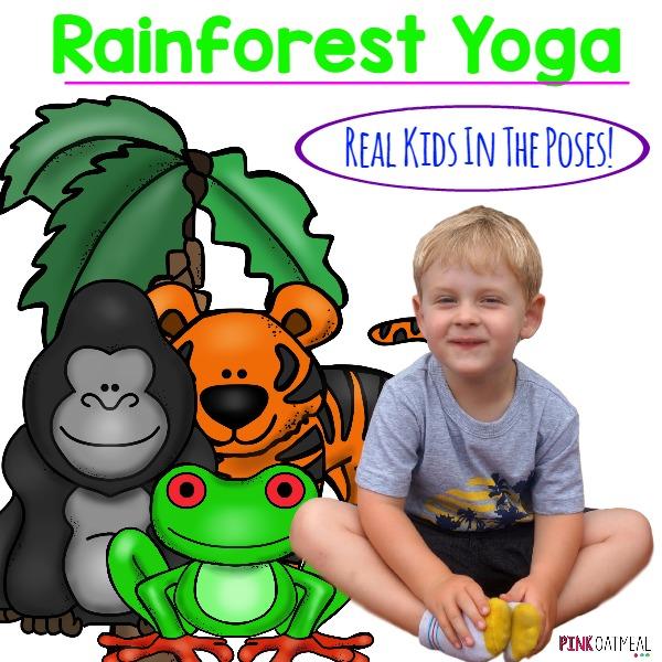 Rainforest Yoga Cover