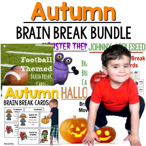 Autumn Brain Break Bundle Cover