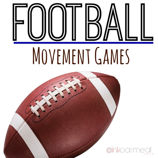 Football Movement Games - Pink Oatmeal