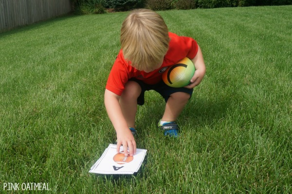 Football Gross Motor Game. Fun brain break or game for a party with a football theme!