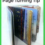 Baby Play: Page Turning Tip For Baby