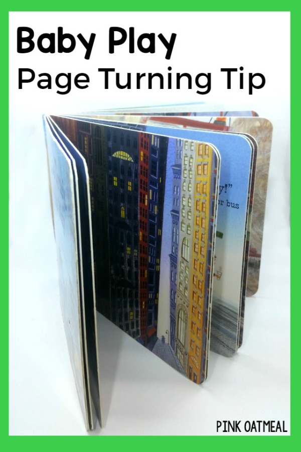 Baby Play Idea - Page Turning Tip