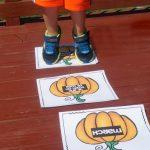 Pumpkin Patch Hop – Fall Gross Motor Game